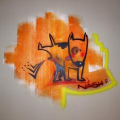 Grafitti<br>Dieses Bildchen zierte mein Badezimmer
