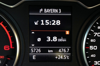Nicht das, was Audi verspricht...