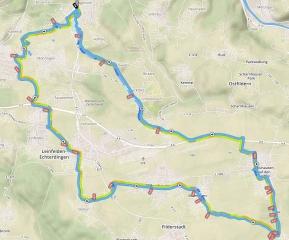 Fildertour<br>Die könnte zur Haus- und Hofstrecke werden, wenn ich in Stuttgart bin. Und das Rad dabei habe.