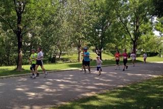 Integrativer Lauf im Westpark