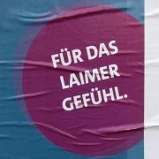 Wahlwerbung<br>Ich weiß nicht, wer sich diesen Spruch für die SPD ausgedacht hat