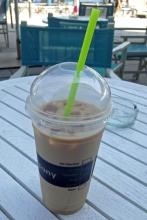 Innere Abkühlung 3<br>Iced Café Latte. Selbstgekauft.