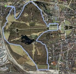 Schlosspark Nymphenburg<br>Er bietet mehr Variationsmöglichkeiten als der Park in Pasing