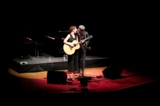 Trevor Moss and Hannah-Lou<br>Durften das Vorprogramm gestalten