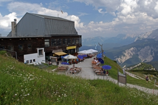 Kontrastprogramm<br>Verglichen mit der Zugspitze war am Osterfelderkopf herrlich entspannt und ruhig