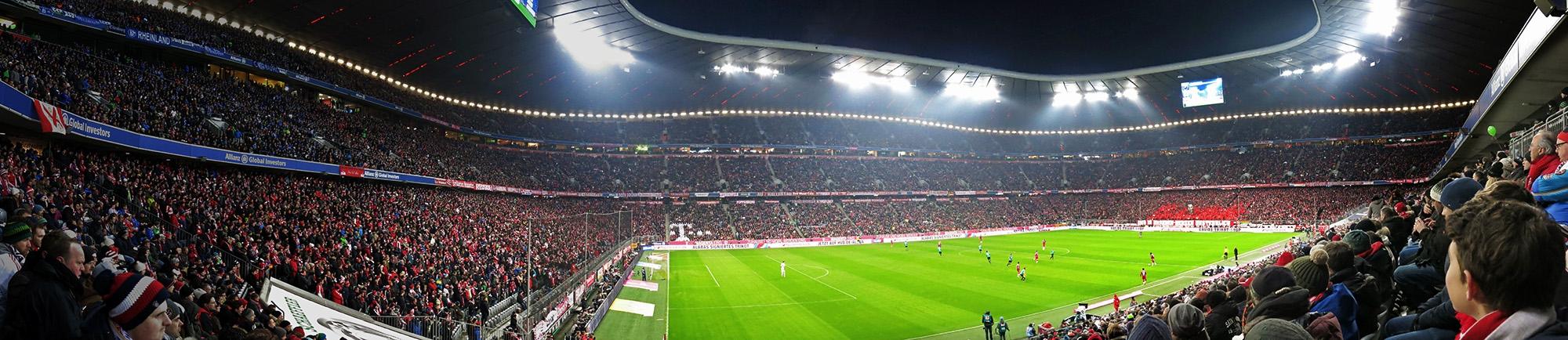 Die Arena<br>Jetzt, mit 750000 Plätzen, noch eindrucksvoller