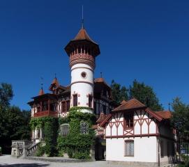 Jedem ein Schloss...<br>Das Scheuermann-Schlösschen im Kurpark von Herrsching