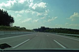 Freie Fahrt<br>Ich glaube ja, der Füllstand der Fahrbahnen ist nicht repräsentativ...