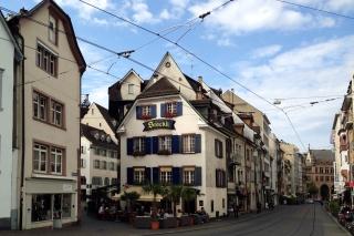 Falknerstrasse<br>Blick in die Falknerstraße
