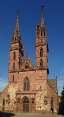 Nochmal das Münster<br>Diesmal die Front