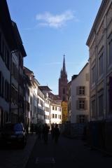 Blick auf des Münster<br>Mein Fußweg zum Münster