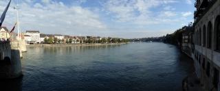 Panorama<br>Von der Mittleren Brücke aus aufgenommen