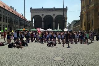 Mein erster Flashmob<br>Lustig anzusehen.