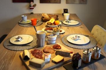 Frühstück<br>Ja, so geht das neue Jahr gut los...