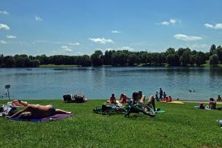 Badesee Heimstetten<br>Der perfekte Ort für einen völlig entspannten Sonntag