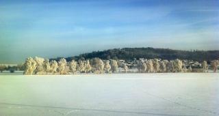 """Winterwunderland<br>Keine weißen Weihnachten - dann halt ein """"Archivbild"""" von zwei Wochen davor. Da kommt Winterstimung auf!"""